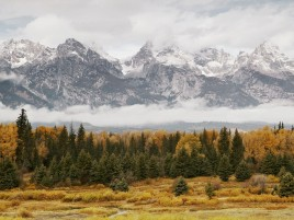 Grand Teton Landscape wallpapers and stock photos
