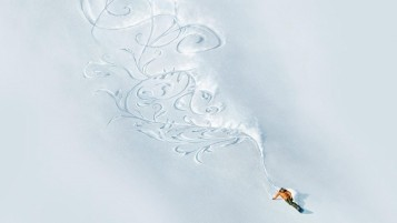 Snowboard Art wallpapers and stock photos