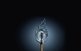 Burning Water wallpapers and stock photos