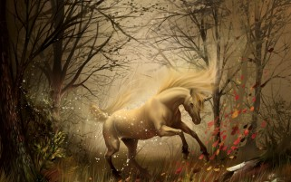 Previous: Fantasy Unicorn Artwork Forest