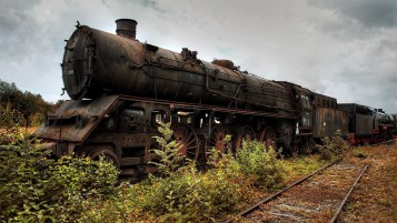 Rusted Train Industrial Plants wallpapers and stock photos
