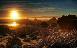 Previous: Sunset Ocean Rocks Shore