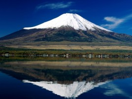Random: Japan Mount Fuji Lake Reflect