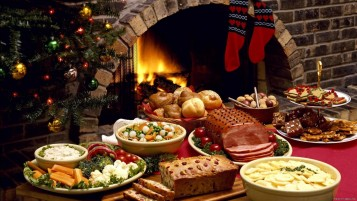 Christmas Food wallpapers and stock photos