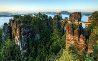 Random: Bastei Bridge Switzerland