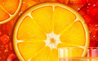 Orange Slice wallpapers and stock photos