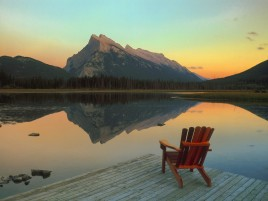 Previous: Mountains Lake & Wooden Chair