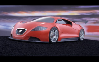 Seat Cupra front wallpapers and stock photos