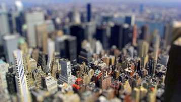 Tilt-shift New York City wallpapers and stock photos