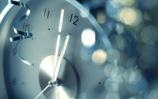 New Year Clock wallpapers and stock photos