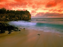 Previous: Red Sky Cliff Ocean & Beach