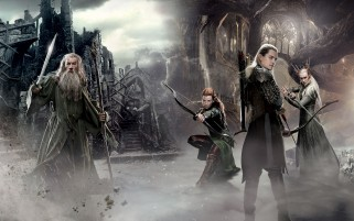 Gandalf & the Elves wallpapers and stock photos