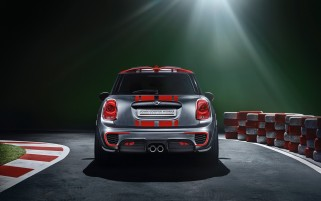 2014 Mini John Cooper Works Concepto estático trasero wallpapers and stock photos