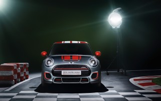 2014 Mini John Cooper Works Concepto estático frontal wallpapers and stock photos