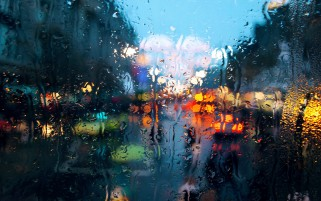 Rain on Glass wallpapers and stock photos