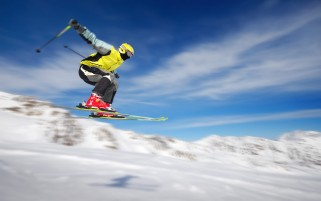 Ski Jump wallpapers and stock photos