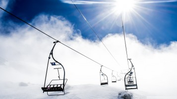 Ski Ropeway wallpapers and stock photos