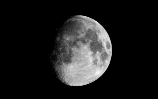 Greyscale moon wallpapers and stock photos