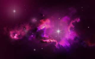 Random: Pink Outer Space & Stars