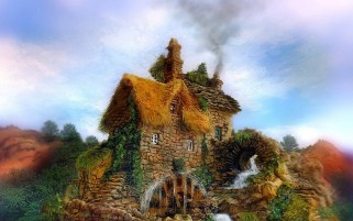 House Watermill & Nature wallpapers and stock photos
