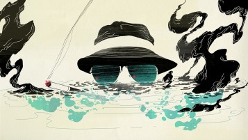 Glasses Cap Smoke Water wallpapers and stock photos