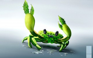 Fruits Crabs wallpapers and stock photos
