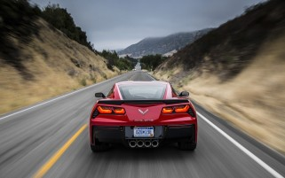 2014 Red Chevrolet Corvette Stingray Red Motion wallpapers and stock photos