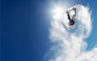 Snowboard Flip wallpapers and stock photos