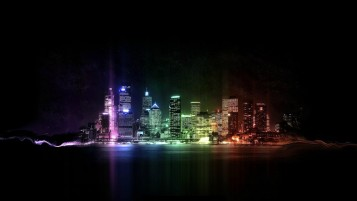 Abstract Colors City wallpapers and stock photos