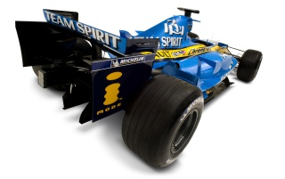 Renault F1 R26 rear wallpapers and stock photos