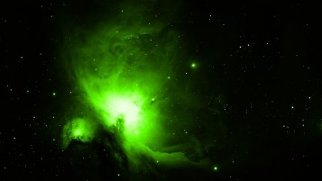 Light Green Outer Space wallpapers and stock photos