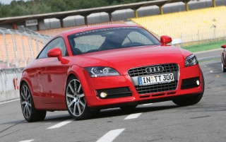Audi TT red wallpapers and stock photos