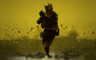 Desert Combat Soldier wallpapers and stock photos
