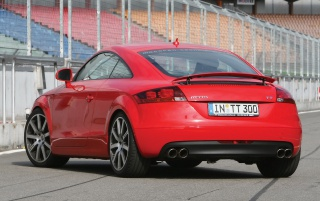 Audi TT rear wallpapers and stock photos