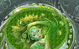 Previous: Woman Green Beauty