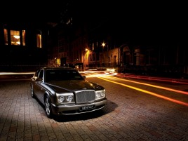 Bentley Arnage Night wallpapers and stock photos