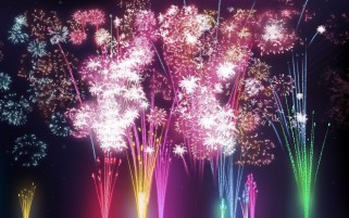 Multi Color Firework wallpapers and stock photos