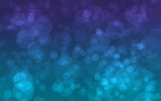 Random: Bubbles Purple & Blue