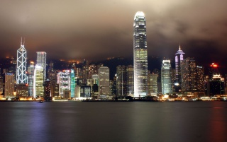 Random: Hong Kong by night