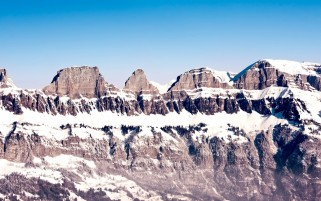 Sky Mountains Snow wallpapers and stock photos