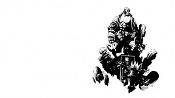 Hellboy Comics wallpapers and stock photos