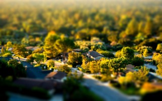 Tilt Shift-Effekt wallpapers and stock photos