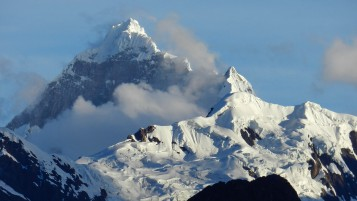 Random: Snow Mountains & Clouds Peru