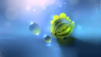 Melon Fish & Water Abstract wallpapers and stock photos