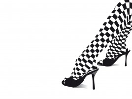 Black & White Legs High Heels wallpapers and stock photos