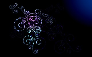 Blue & Purple Swirls Abstract wallpapers and stock photos