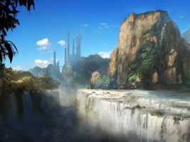 Random: Waterfalls Mountains & Scenery