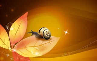 Previous: Orange Yellow Leaves & Snail