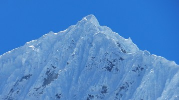 Snow Mountains Close Up View wallpapers and stock photos