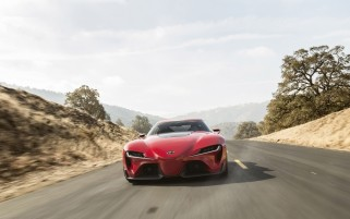 2014 Toyota FT-1 Concept Front Tilt Motion wallpapers and stock photos